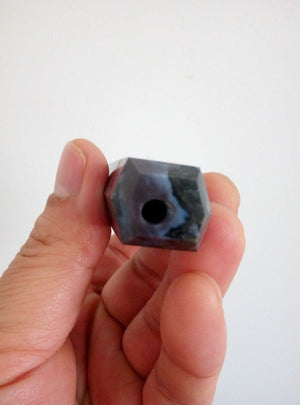 Natural Mystic Indigo Merlinite Crystal Stone - atperry's healing crystals