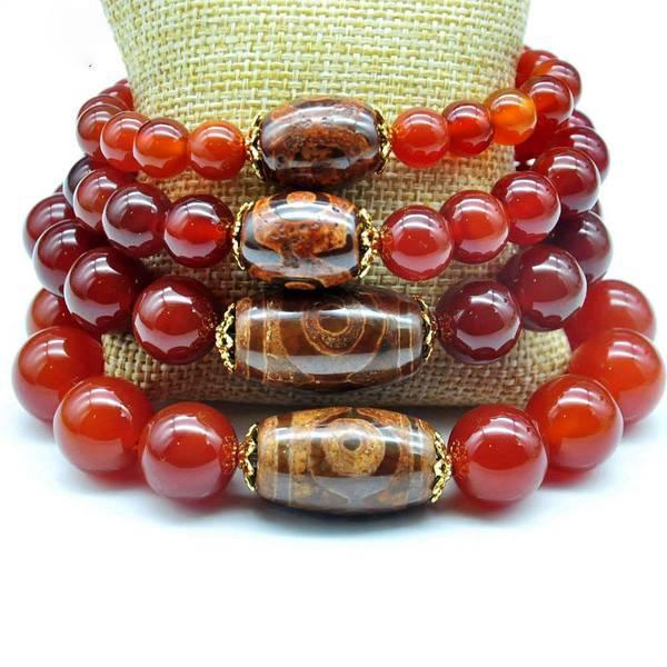 Natural Carnelian Beads - AtPerry's Healing Crystals™