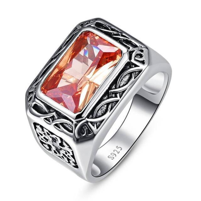 Morganite Vintage - 925 Sterling Silver Ring - AtPerry's Healing Crystals™