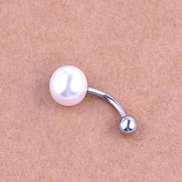 Navel Belly Button Pearls - Piercing - AtPerry's Healing Crystals™