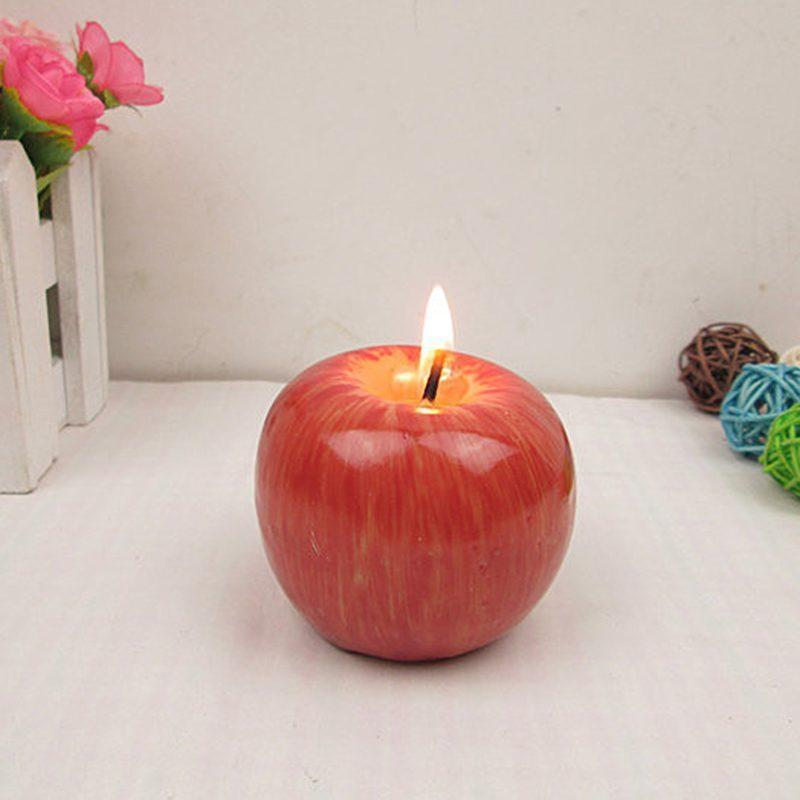 Apple Wax Candle - AtPerry's Healing Crystals™