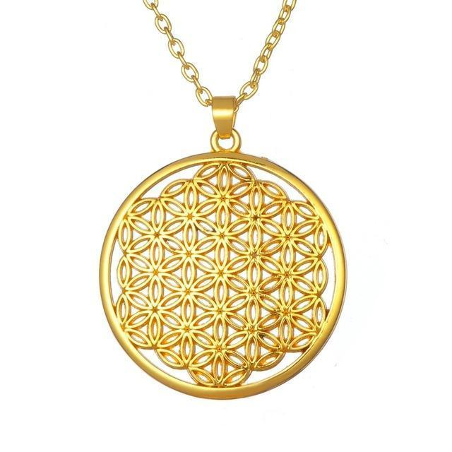 The Flower of Life Necklace - atperry's healing crystals
