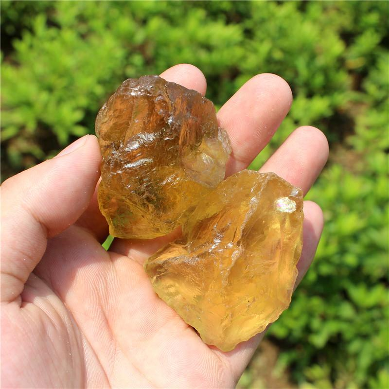 Natural Citrine Crystals