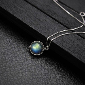 Labradorite Necklace - 925 Sterling Silver