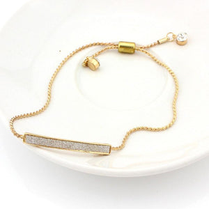 18K Gold Plated  Unique CZ Diamond Micro Pave Fashion Bracelet - atperry's healing crystals