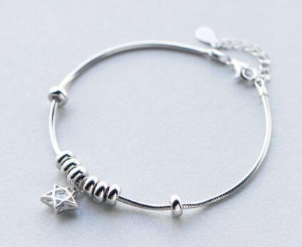 Shooting Star Sterling Silver Bracelet - atperry's healing crystals