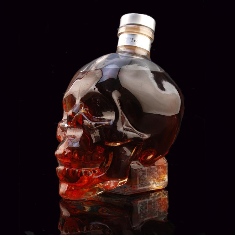 Crystal Skull Bottle - atperry's healing crystals