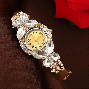 Classic Gold Butterfly Watch