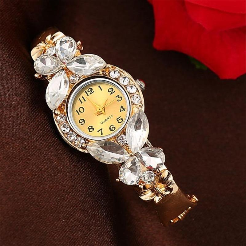 Classic Gold Butterfly Watch - atperry's healing crystals