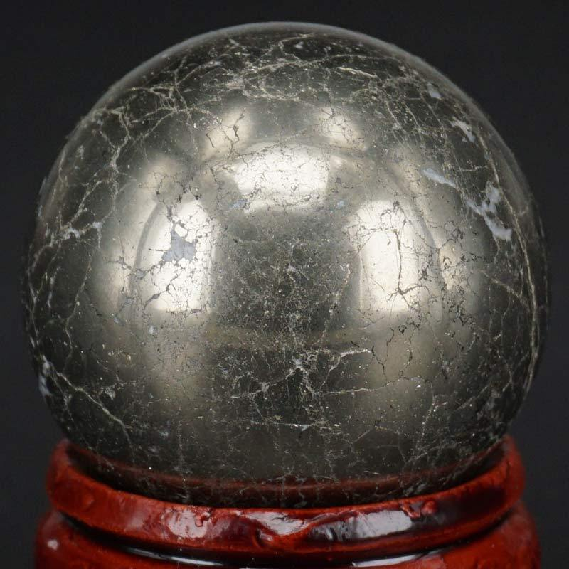 Natural Pyrite Sphere Crystal Ball