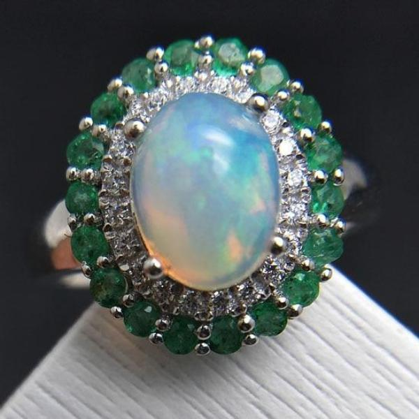 100% Natural Ethiopian Rainbow Opal - atperry's healing crystals