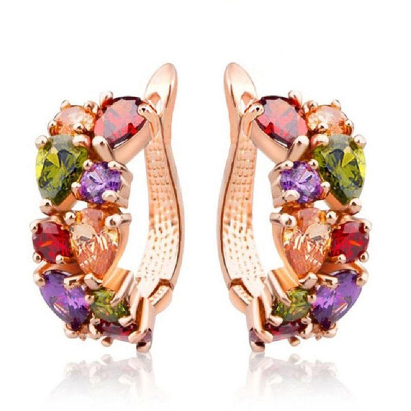 Multicolor Earrings - AtPerry's Healing Crystals™