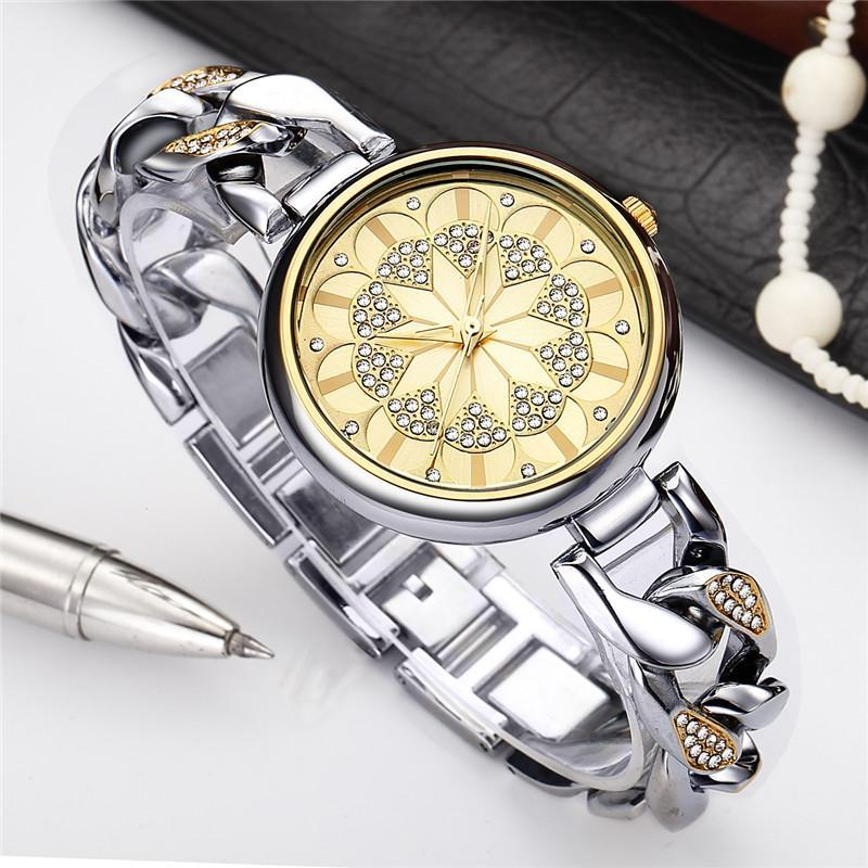 Retro Golden Diamond Watch for Women - atperry's healing crystals