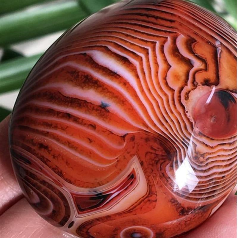 Natural Polished Red Carnelian Agate