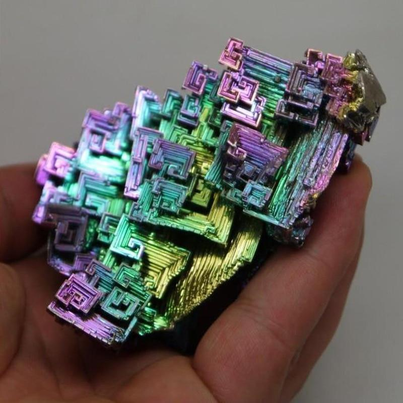 Rainbow Crystal Bismuth - atperry's healing crystals