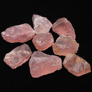 50G Natural Raw Pink Rose Quartz Crystal Gemstone