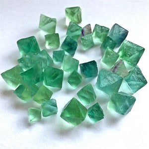 1 Pc. Natural Octahedral Colorful Fluorite Raw Gemstone