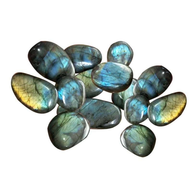 Natural Crystal Labradorite Raw Gemstone