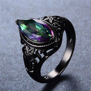 Vintage Rainbow Sapphire Ring - atperry's healing crystals