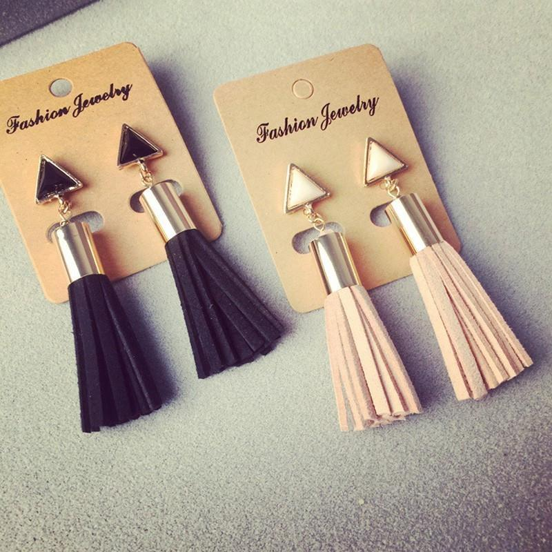 Vintage Tassel Drop Earrings - atperry's healing crystals