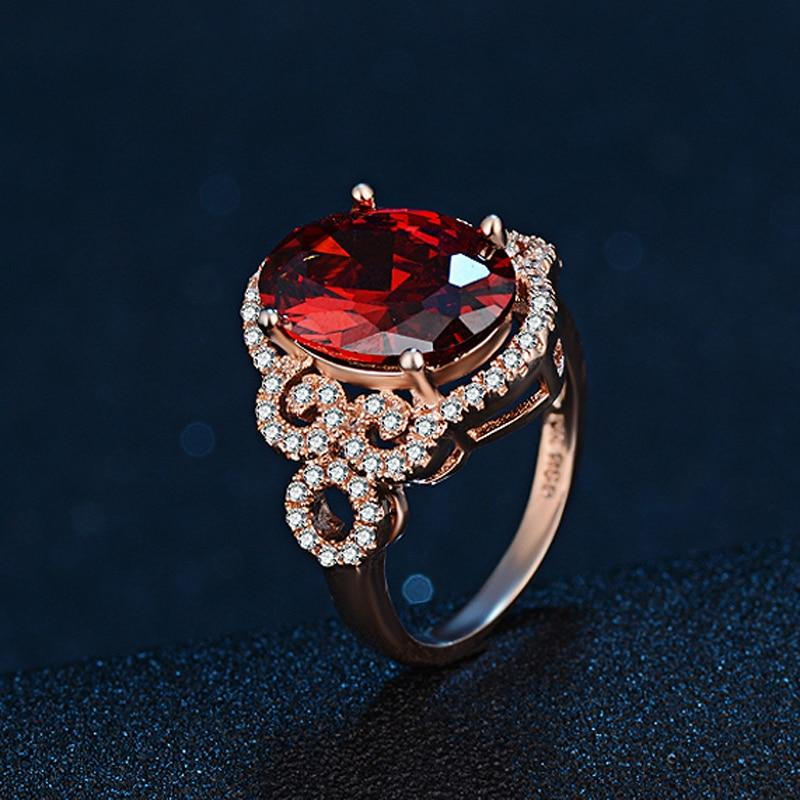 Gorgeous Deep Blood Ruby RingRing