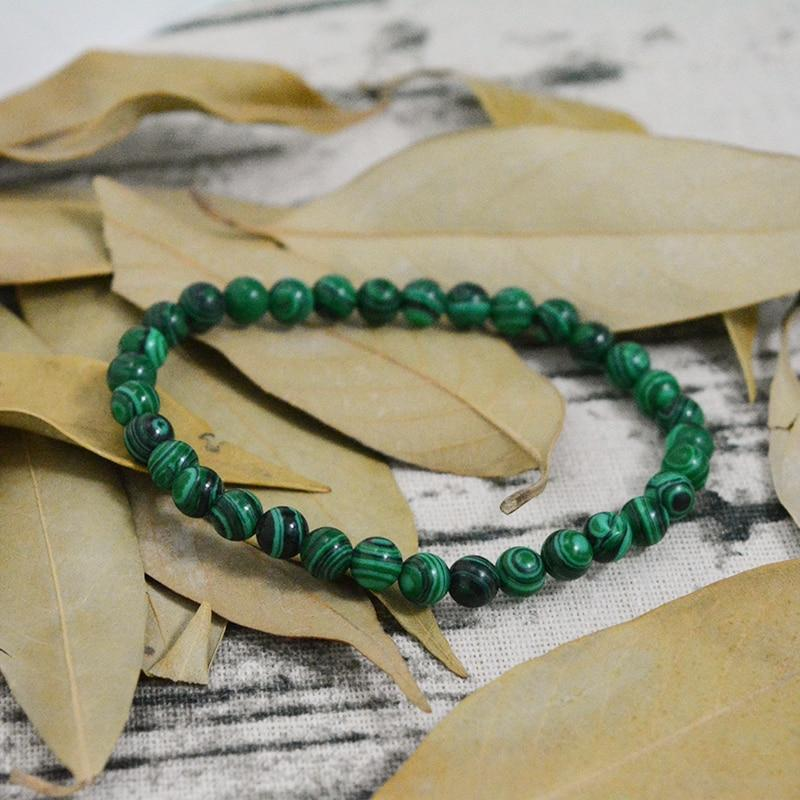 Malachite Bead Bracelet - atperry's healing crystals