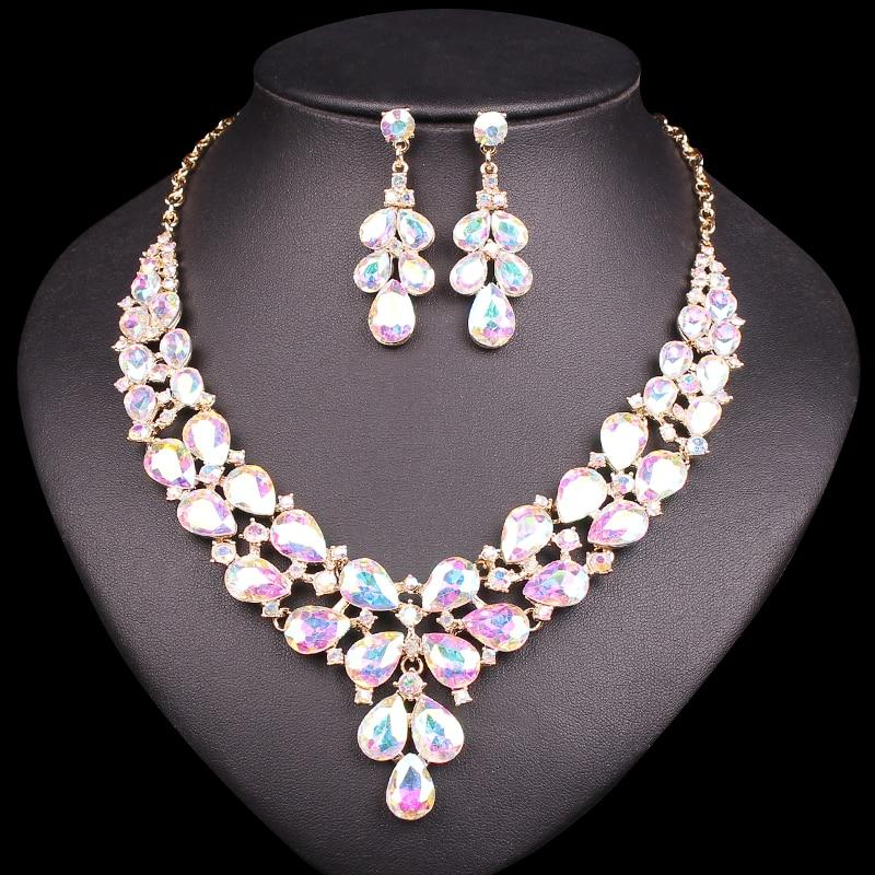 Classic Crystal Jewelry Set - atperry's healing crystals