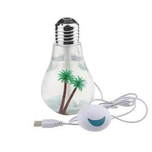 LED Lamp Air Ultrasonic Humidifier - atperry's healing crystals