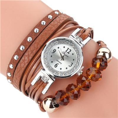 Stylish Strap Bracelet Watch - atperry's healing crystals