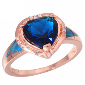 Gorgeous Heart Shaped Sapphire Ring (September Birthstone)