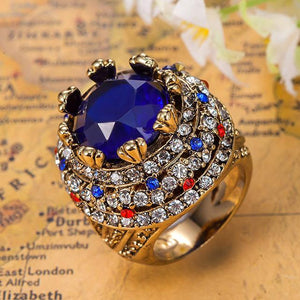 Royal Sapphire Men Ring - atperry's healing crystals