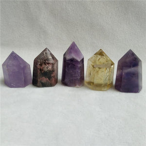 Crystal Quartz Wand Stone - atperry's healing crystals
