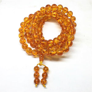108 Amber Mala Beads 6/8/10mm - atperry's healing crystals