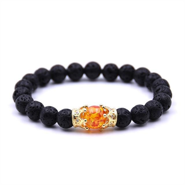 Stylish Sunstone BraceletBraceletGold