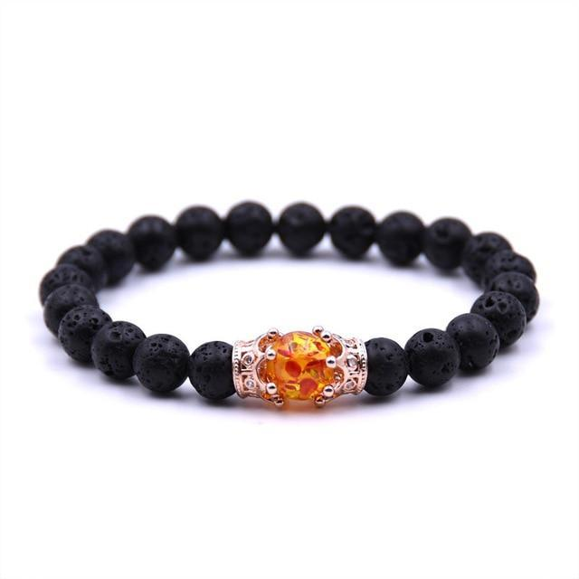 Stylish Sunstone BraceletBraceletRose Gold
