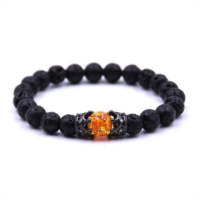 Stylish Sunstone BraceletBraceletBlack