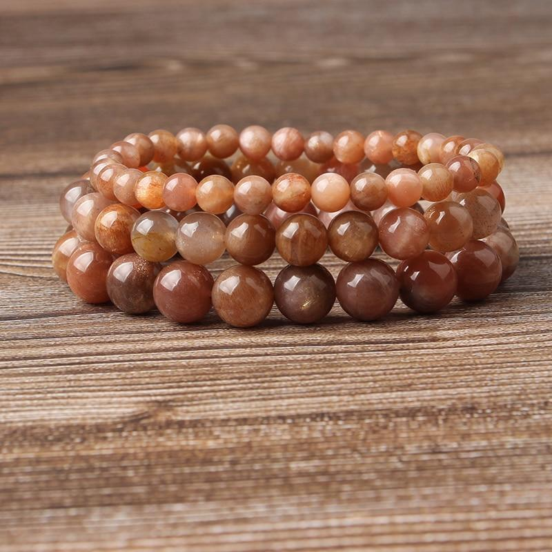 Crystal Sunstone Bracelet