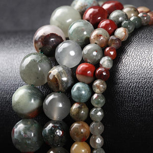 Natural Bloodstone Bracelet - atperry's healing crystals