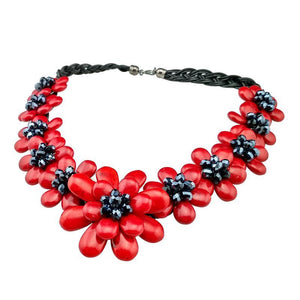 European Style Coral Necklace