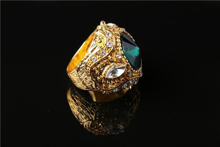 3 Colors Stone Gold Rings - AtPerry's Healing Crystals™