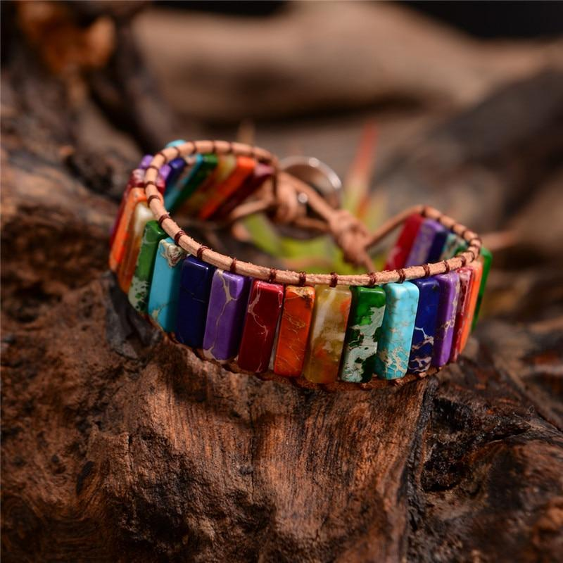 Chakra Power Bracelet - atperry's healing crystals