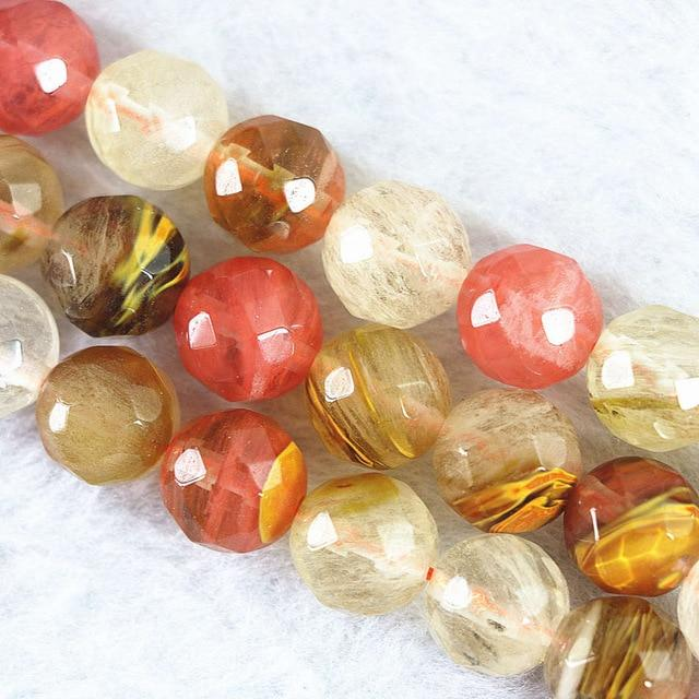 Watermelon Tourmaline Beads - atperry's healing crystals