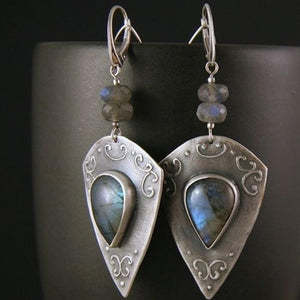 Stylish Dangling Moonstone Earrings - atperry's healing crystals