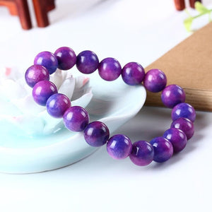 Natural Sugilite Energy Bracelet - atperry's healing crystals