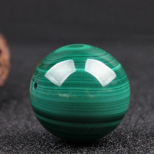 High Quality Malachite Stone Beads - atperry's healing crystals