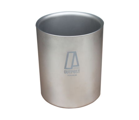 Big Gulp Double Wall Titanium Mug with Plastic Lid DC045