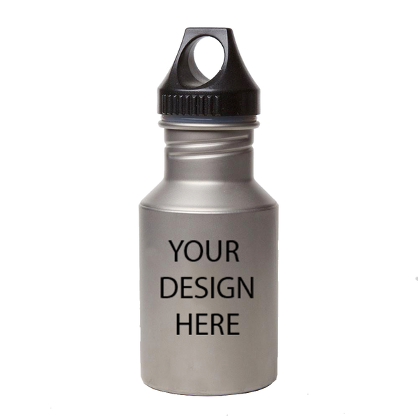 Super Titanium Water Bottle with Plastic Cap and Free Personalized Laser Engraving BP140