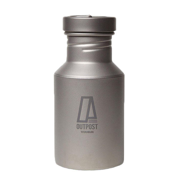 Super Titanium Water Bottle with Titanium Cap and Free Laser Engraving  BT040
