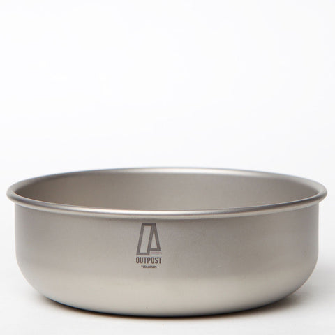 Single Wall Titanium Bowl 500 ml CB104