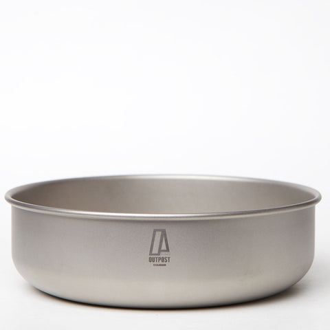 Single Wall Titanium Bowl 800 ml CB107